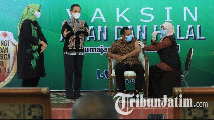 Tuntas Vaksinasi Covid-19 Tahap 1 di Lumajang, Siap-siap Tahap 2: Prioritas Pekerja Pelayan Publik