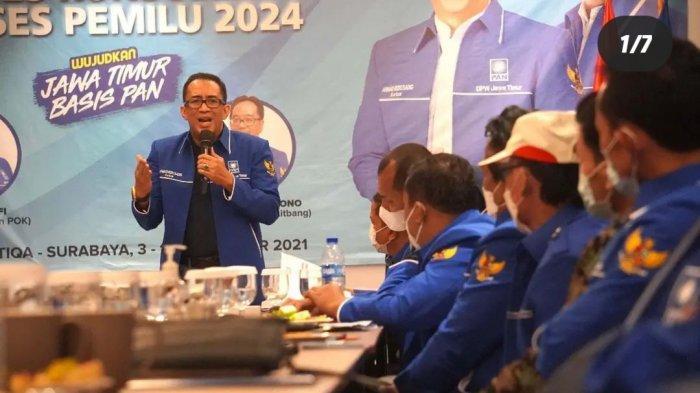 Geber Rakor Internal, DPW PAN Jatim Fokus Konsolidasi