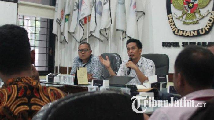 Tahapan Pilkada Berlanjut, KPU Surabaya Agendakan Pelantikan Petugas Pemilu Via Online