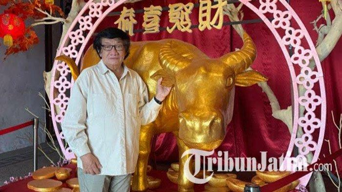 Klenteng Kwan Sing Bio Tuban Bersolek, Pajang Kerbau Logam Jelang Perayaan Imlek 2572