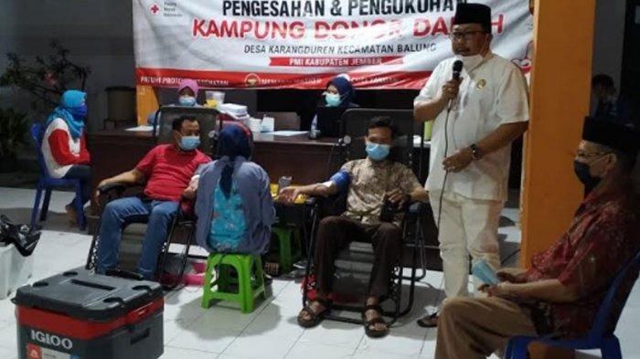 PMI Jember Dorong Adanya Kampung Donor Darah, Kebutuhan Ramadan 2021 Diprediksi Capai 6.000 Kantong