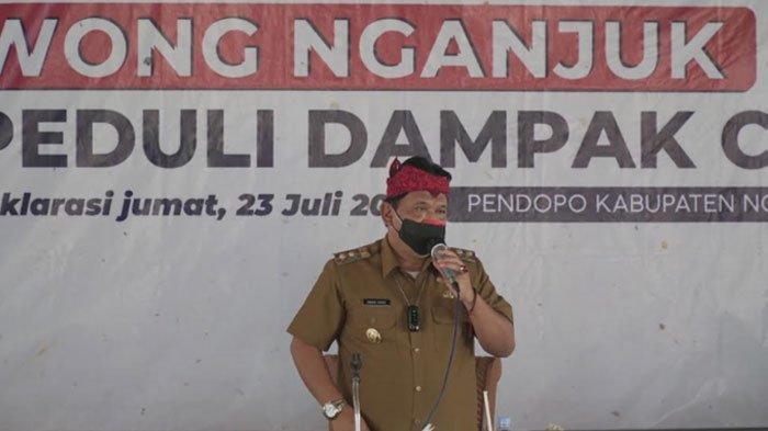 Gerakan Teplekan Wong Nganjuk Terus Berlanjut, Berhasil Kumpulkan Uang Bantuan Rp 843,4 Juta