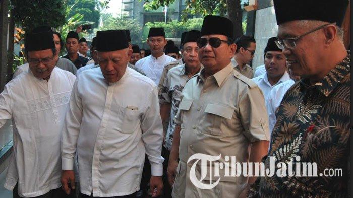Usai Dari Banyuwangi, Prabowo Dijadwalkan Hadiri Pengajian di Tugu Pahlawan Surabaya