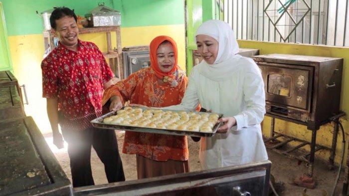 Pemasarannya Lemah, Khofifah Sarankan Kampung Pia Kejapanan Pasuruan Branding Lewat Pengunjung