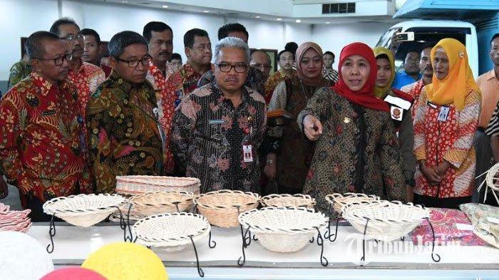 Khofifah Kenalkan Mobile Training Unit di Bursa Kerja Jatim Expo, Sediakan 5 Jenis Training Keliling
