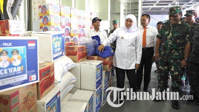 Jawa Timur Gotong Royong Kirimkan Bantuan untuk Papua, Termasuk Makanan dan 77 Dokter