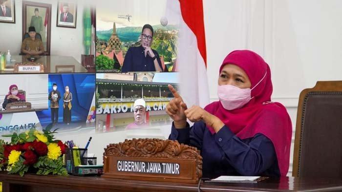 Hari Jadi Trenggalek ke-827, Gubernur Khofifah Dorong Produk UMKM Trenggalek Tembus Ekspor