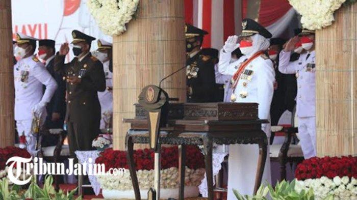 Gubernur Khofifah Sebut HUT RI Ke-76 Momentum Merdeka dari Covid-19, Optimis 'Jawa Timur Mampu'