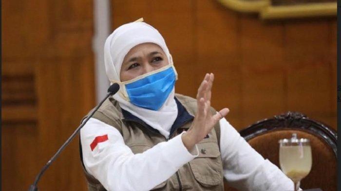 May Day di Tengah Pandemi Covid-19, Gubernur Jatim Khofifah Imbau Buruh Tak Gelar Unjuk Rasa