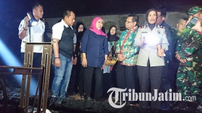 Gubernur Jawa Timur Meninjau Pasar Ngunut Tulungagung, Janjikan Bantuan untuk Pembangunan Kembali