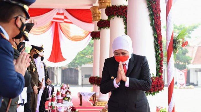 RS Lapangan Indrapura Sudah Zero Pasien Covid-19, Khofifah Ucapkan Terima Kasih untuk Seluruh Nakes