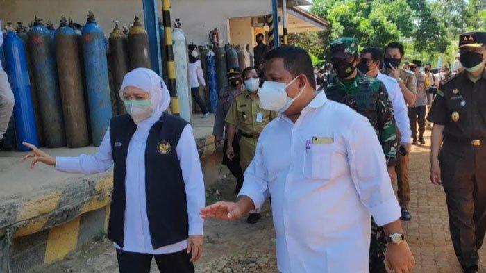 Cek Ketersediaan Tabung Oksigen di Tuban, Gubernur Jatim: Aman untuk Tujuh Rumah Sakit