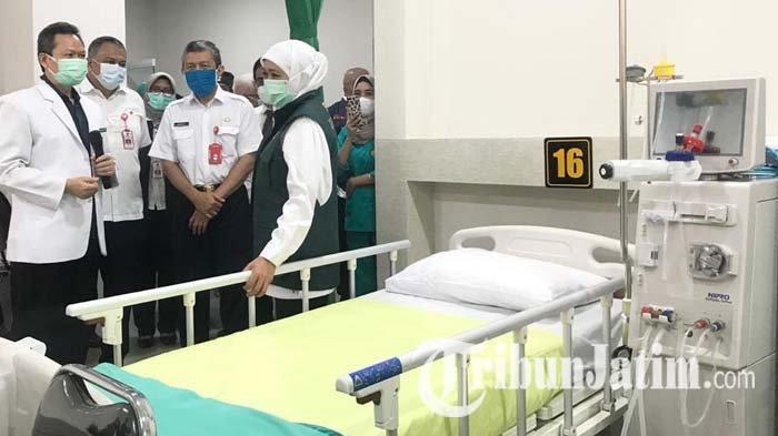 Khofifah Resmikan Unit Hemodialisa RSSA Malang, Gadang Jadi Center of Excellent Pengobatan Ginjal