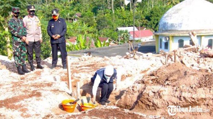 Korban Gempa di Jawa Timur Dibangunkan Rumah Sederhana, Cegah Penularan Covid-19 di Pengungsian