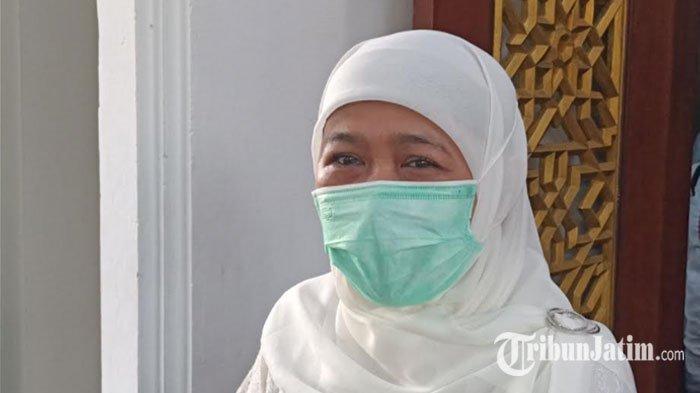 Khofifah Ajak Warga Jatim yang Batal Berangkat Haji untuk Tawakkal