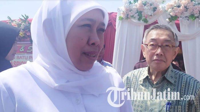 Gubernur Khofifah Imbau Mahasiswa Jawa Timur Gelar Aksi dengan Sopan, Objektif dan Tanpa Kekerasan