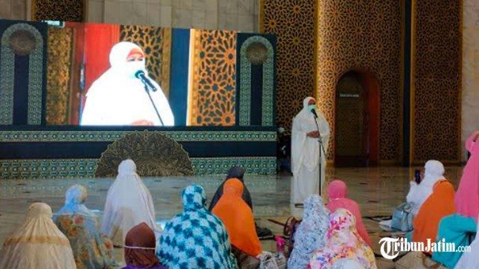 Masjid dan Musala di Lumajang Rusak Kena Gempa, Gubernur Khofifah Siap Kirim Kebutuhan Salat Tarawih