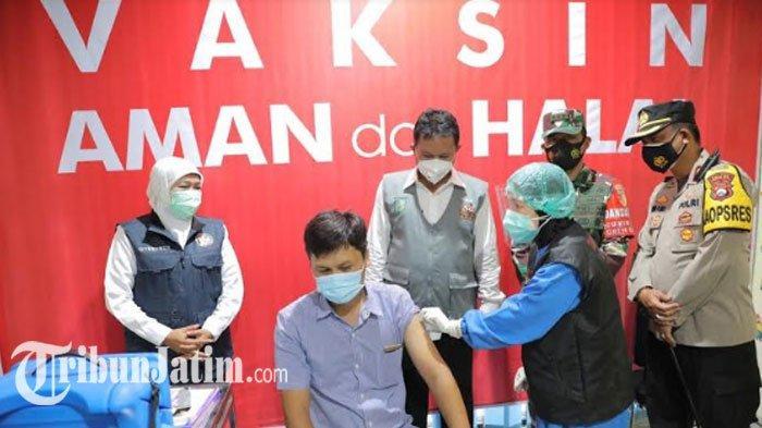 Vaksinasi Covid-19 SDM Kesehatan di Kota Madiun Sudah 73 Persen, Target Rampung Besok Lusa