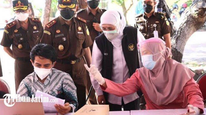 Mobilitas di Kota Malang Masih Harus Diturunkan, Gubernur Khofifah: PR PPKM Darurat di Jawa Timur