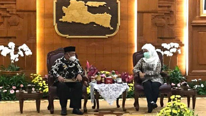 Resmi, Marhaen Djumadi Jabat Plt Bupati Nganjuk, Khofifah Berpesan Kembalikan Kepercayaan Masyarakat