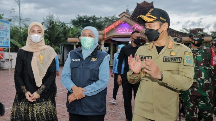Kunjungi Trenggalek, Gubernur Jatim Sebut Prototype PPKM Mikro Mirip Kampung Tangguh