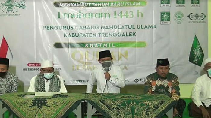 Tahun Baru Islam 1443 H, PCNU Trenggalek Gelar Khotmil Quran Tolak Balak, Berharap Pandemi Berakhir