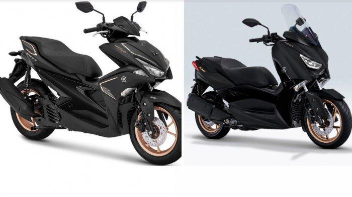 """Awal Tahun 2020, Yamaha Meluncurkan Xmax dan Aerox """"MAXI Signature"""", Paling Istimewa"""