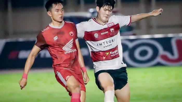 Tampil di Luar Ekspektasi, Pelatih Madura United Dibuat Terkejut Melihat Performa Kim Jin-sung