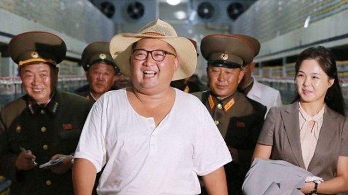 KEPANIKAN Ibu Kota Korut saat Rumor Kim Jong Un Meninggal, Heli Terbang Rendah, Warga Timbun Barang