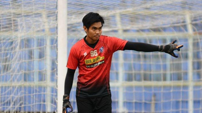 Kiper Arema FC, Kurniawan Kartika Ajie bakal dipinjamkan ke klub Liga 2, RANS Cilegon FC