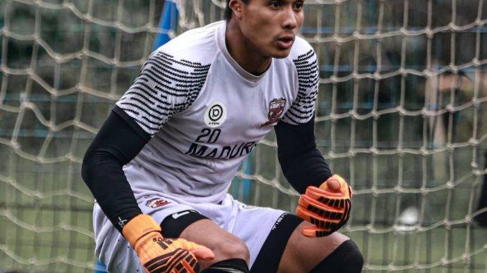 Kiper Madura United Tidak Pungkiri, Penundaan Kompetisi Berdampak Pada Sisi Psikis