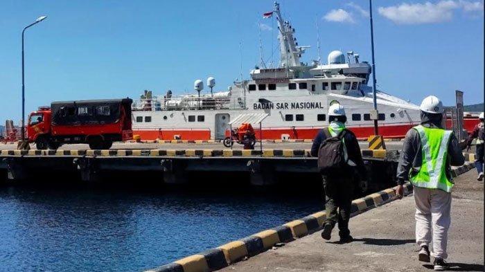 Basarnas Kerahkan Tiga Kapal Bantu Pencarian KRI Nanggala 402, KN SAR Antasena Ikut Terlibat