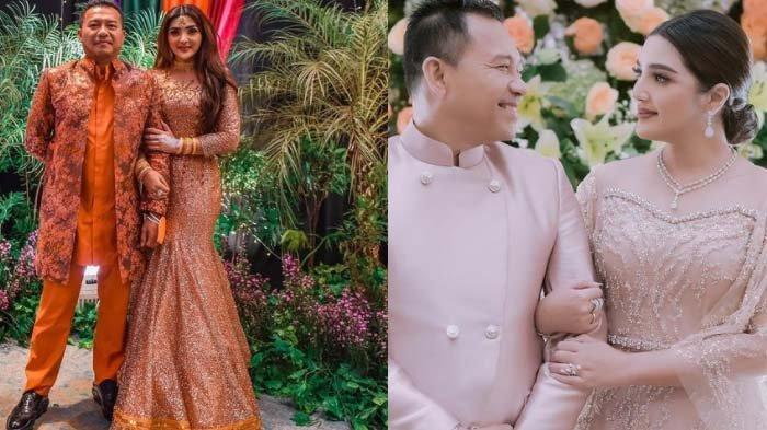 Kolase foto Anang Hermansyah dan Ashanty, istrinya.