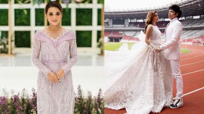 Kolase foto Aurel Hermansyah dan Atta Halilintar yang akan menikah hari ini.