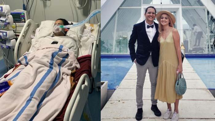 Kolase foto Joanna Alexandra dan Raditya Oloan, suaminya yang kini meninggal dunia.