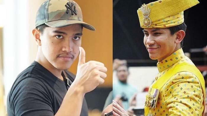 Sosok Kaesang Pangarep-Pangeran Brunei Abdul Mateen Dibandingkan, Reaksi Anak Jokowi Viral, Terima?