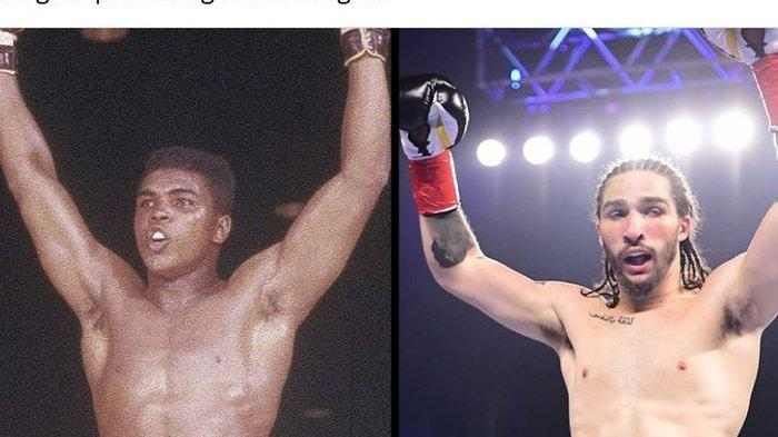 Lakoni Debut Tinju Profesional, Cucu Muhammad Ali Menang TKO
