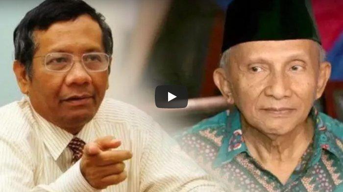 Mahfud MD Ingin Ketemu Amien Rais Terkait Kabinet Indonesia Maju: Biar Dijewer