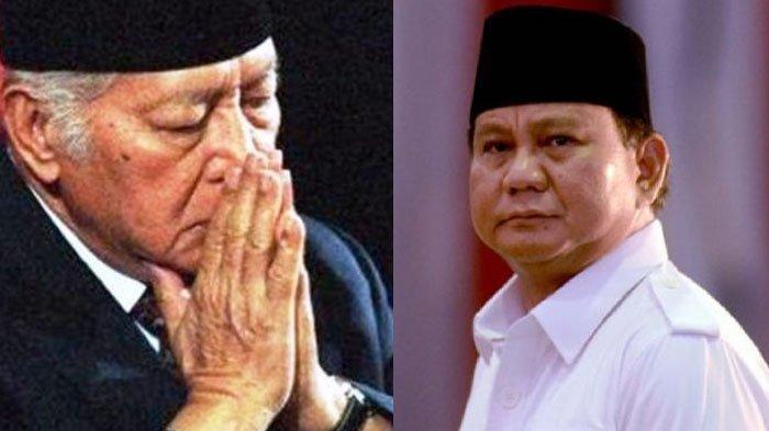 Terkuak, Soeharto Ternyata Tak Pilih Prabowo Subianto Saat Diberi 4 Nama untuk Capres, Pilih Siapa?