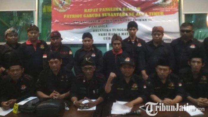 Patriot Garuda Nusantara Siap di Depan untuk Hadang Pengacau Pelantikan Jokowi-Ma'ruf Amin