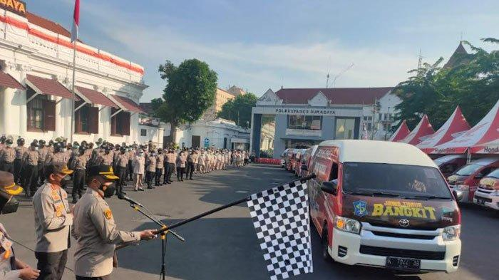 44 Hari Keliling Kampung, Mobil Vaksin Keliling Sudah Berikan 130 Ribu Dosis ke Warga Surabaya