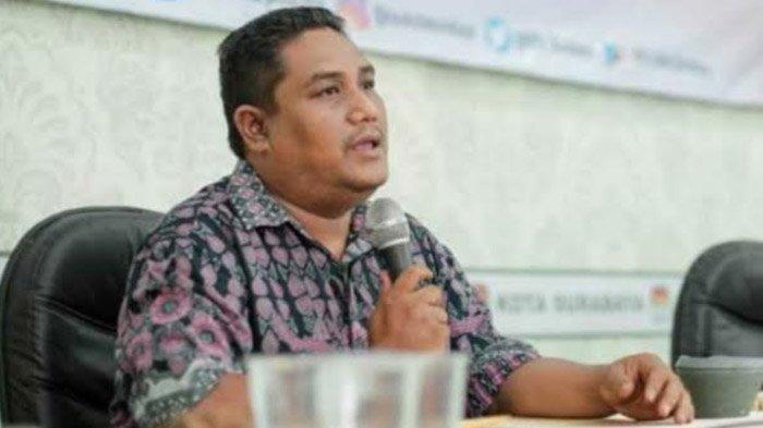 Komisioner KPU Kota Surabaya Divisi Hukum dan Pengawasan, Agus Turcham, 2021.