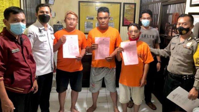 Tertangkap Komplotan Pemeras Ngaku-ngaku Polisi, Beraksi 7 Kali di Tulungagung dan 2 Kali di Kediri
