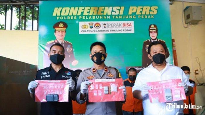Operasi Narkoba Awal 2021 Amankan 74 Tersangka, Salah Satunya Ngaku Wartawan Media Online Surabaya