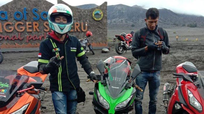 Jaga Motor Tetap 'Greng' Walau Jarang Dipakai Saat Pandemi, Gini Tips dari Ninja Community Surabaya