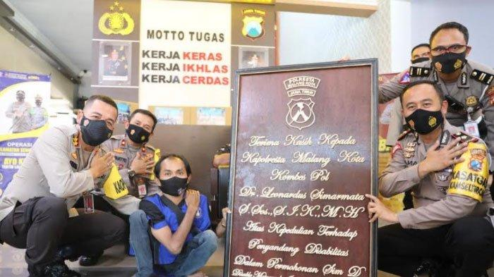Komunitas DMI Datangi Polresta Malang Kota, Beri Apresiasi Program