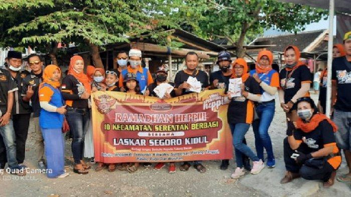 Laskar Segoro Kidul Jember Gelar Aksi Ramadan Heppiii Menyasar 300 Tukang Becak di 10 Kecamatan
