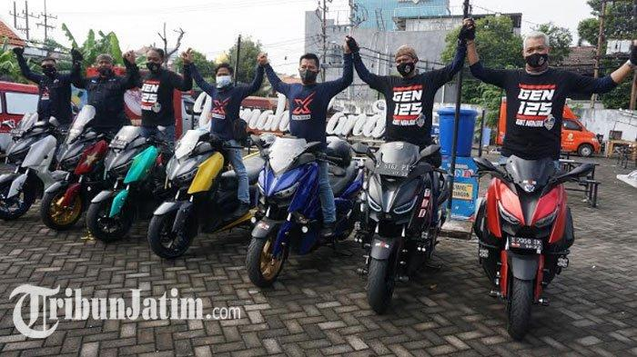 Fun Touring Generasi 125 Buktikan Komunitas Motor Yamaha Jatim Solid, Dikawal Moxer Sampai Finish