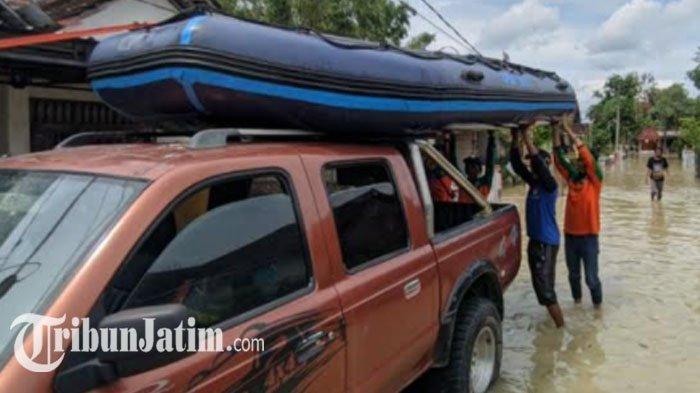 Banjir Merendam Ratusan Rumah di 2 Kecamatan Kabupaten Mojokerto, Dawarblandong Paling Parah