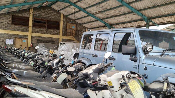 Hampir 1 Tahun Rupbasan Surabaya Tampung 295 Kendaraan Bermotor Rampasan Negara